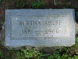 Bertha Ahlff