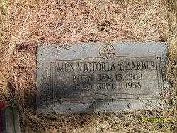 Victoria <i>Fountain</i> Barber