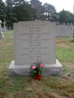 Margaret Mary Maggie <i>McGrath</i> McCaffrey