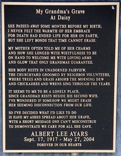 Albert Lee Ayars