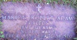 Marion Robert Adams