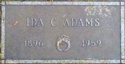 Ida <i>Carson</i> Adams