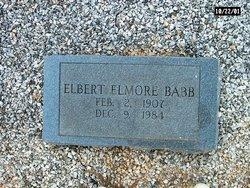 Elbert Elmore Babb