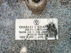 Charles E Chapman
