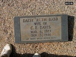 Daisy Ruth <i>Babb</i> Davis