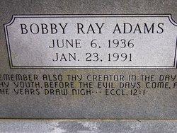 Bobby Ray Adams