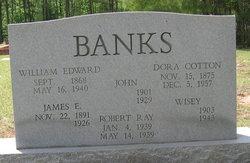 Dora (Elizabeth) <i>Cotton</i> Banks