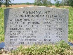 Elizabeth <i>Perkins</i> Abernathy