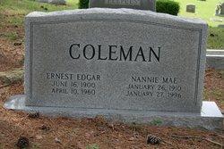 Nannie <i>Springer</i> Coleman