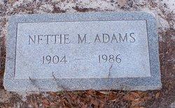Nettie M. Adams