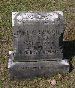 Florence B. <i>Marshall</i> Tossing Dunham