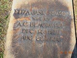 Eliza Jane <i>Slaton</i> Blackwell