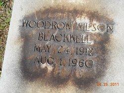 Woodrow Wilson Blackwell