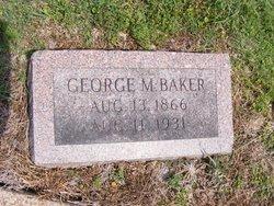 George M Baker