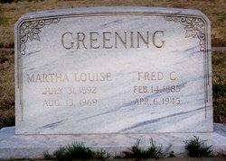 Frederick C Greening