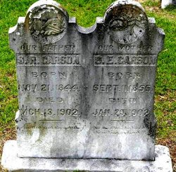 Sallie E. <i>Porter</i> Carson