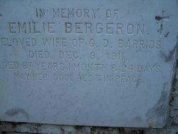 Emillie Marie <i>Bergeron</i> Barrios