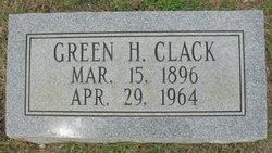 Green H Clack
