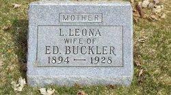Lavina Leona <i>Thompson</i> Buckler