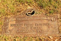 Minnie <i>Bible</i> Phillips