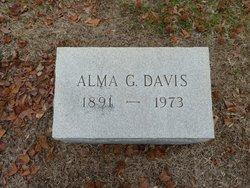 Alma G Davis