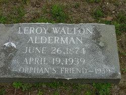 Leroy Walton Alderman