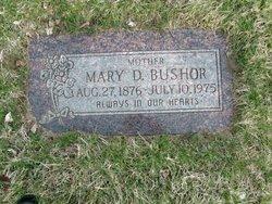 Mary Delight <i>Osborn</i> Bushor
