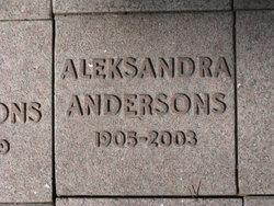 Aleksandra Andersons