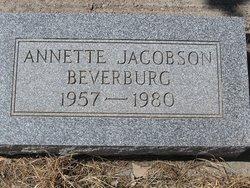 Annette <i>Jacobson</i> Beverburg