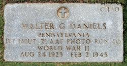 Lieut Walter G. Daniels
