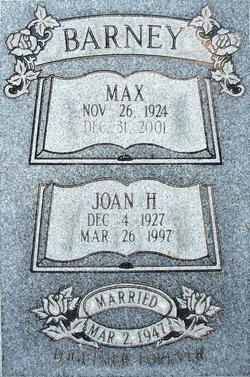 Joan Helen <i>Parmenter</i> Barney