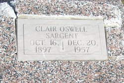 Pvt Clair Oswell Sargent