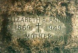 Elizabeth A <i>Clement</i> Annen