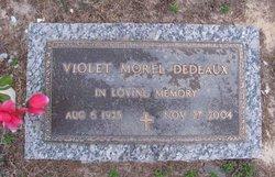 Violet <i>Morel</i> Dedeaux