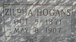 Zilpha <i>Hogans</i> Dempsey