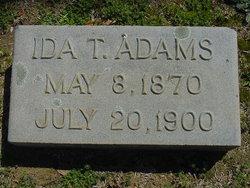 Ida T Adams