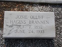 Josie Olliff <i>Hagins</i> Brannen