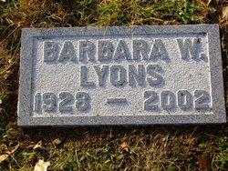 Barbara W Lyons