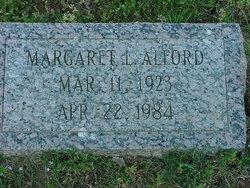 Margaret L Alford