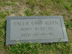 Callie <i>Earp</i> Allen