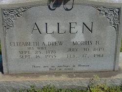 Elizabeth A <i>Drew</i> Allen