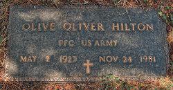 Olive Oliver Hilton