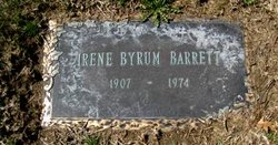 Irene <i>Byrum</i> Barrett