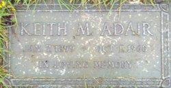 Keith M Adair