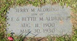 Jerry M Aldridge