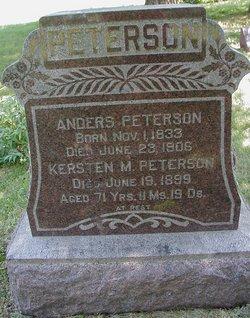 Kirsten Marie Mary <i>Olsen</i> Petersen