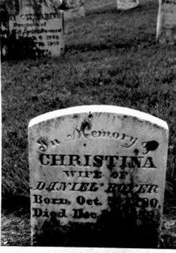 Christina <i>Grossnickle</i> Boyer