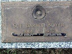 Susie Ann <i>Barbee</i> Boyer