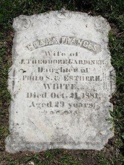 Clara Frances <i>White</i> Gardiner