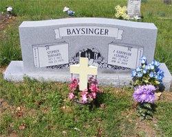 Joyce Gertrude <i>George</i> Baysinger